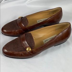 Etienna Aigner Leather Loafers